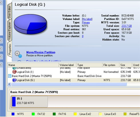 how to create exact 200gb partition