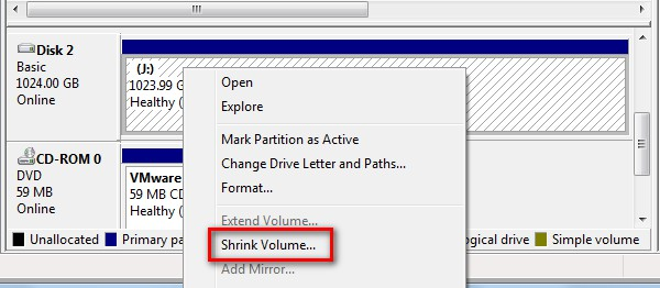 create partition after windows installed create in partition wizard 4