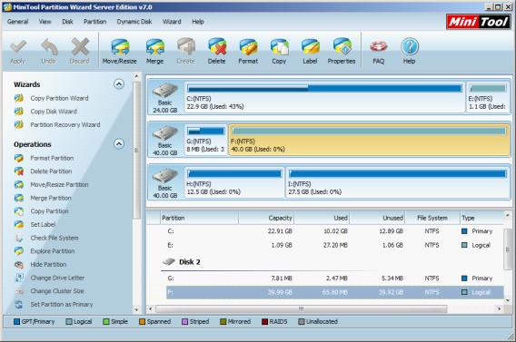 Download a partition magic superior to ServerMagic 4 0?
